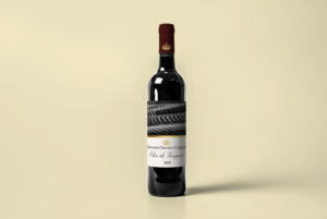 etichetta per bottiglia di vino personalizzata