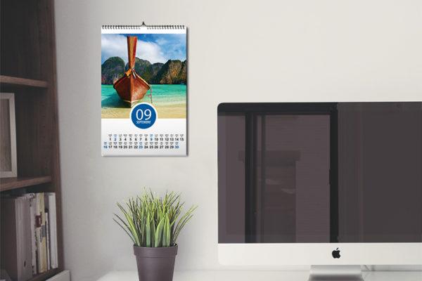 stampa calendario personalizzato