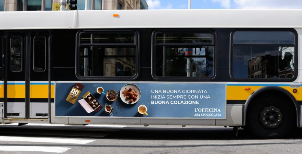 pubblicità arredo urbano