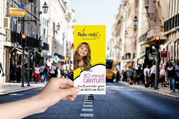 volantino street marketing