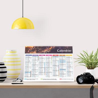Calendari cartonati con rimbocco