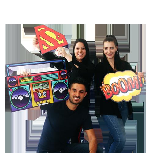 Diego, Laura e Natasha - Consulenti commerciali