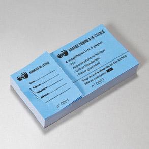 Biglietti  per lotterie